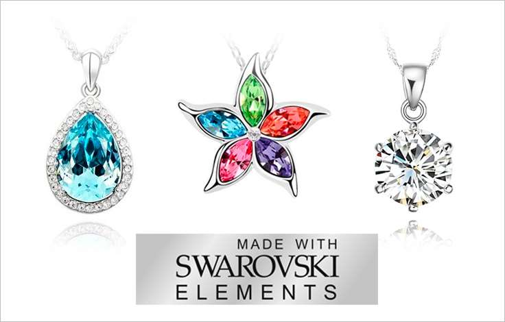 бижутерия Swarovski Elements